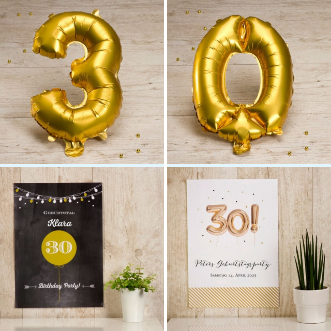 Ideen für 30