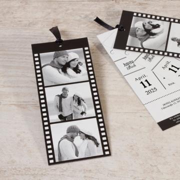 Hochzeitseinladung Filmstreifen