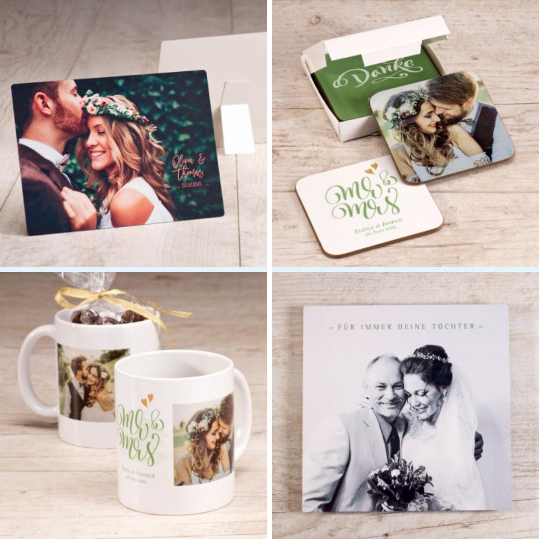Fotogeschenke zur Hochzeit