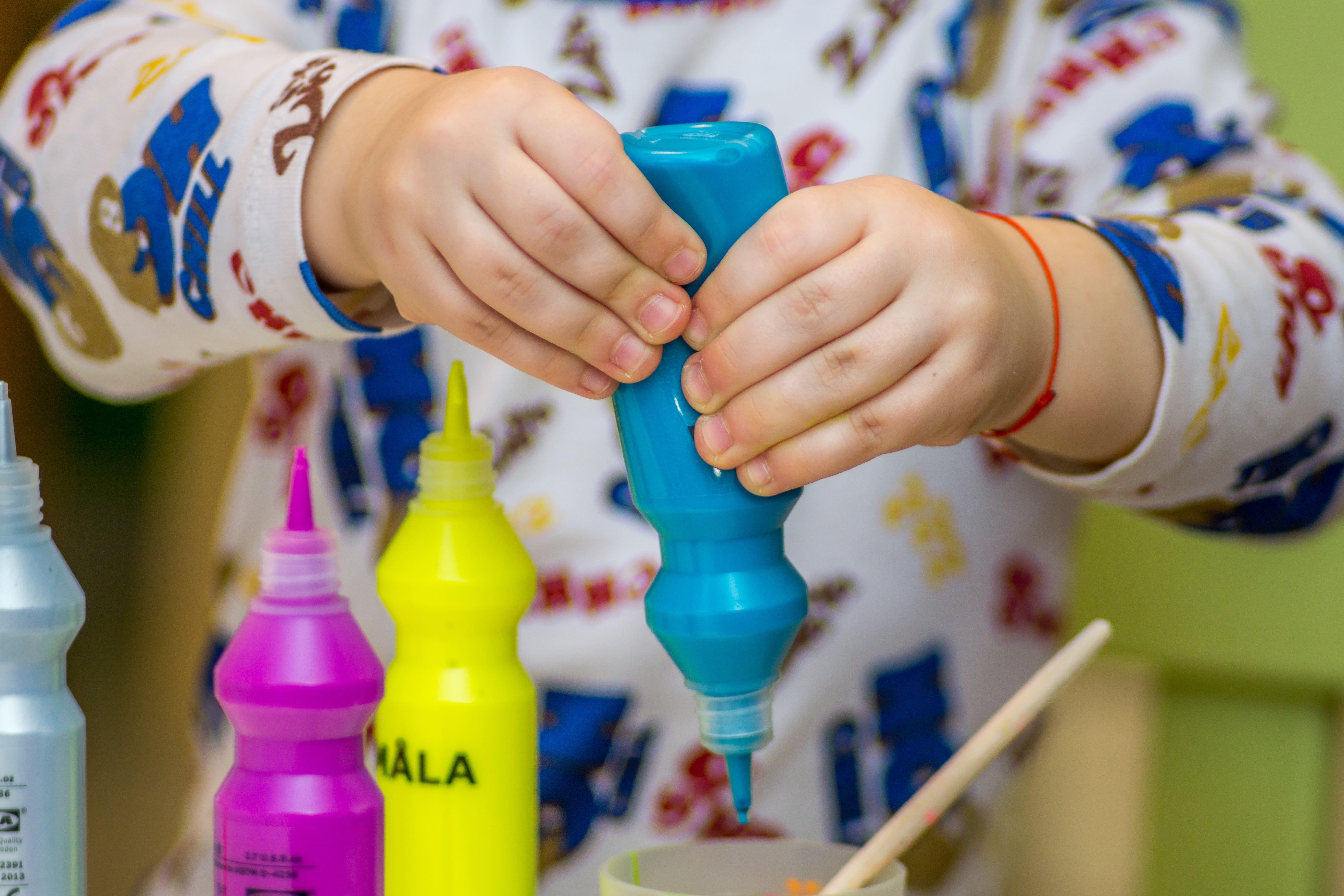 DIY Inspiration für kreatives Basteln mit Kindern