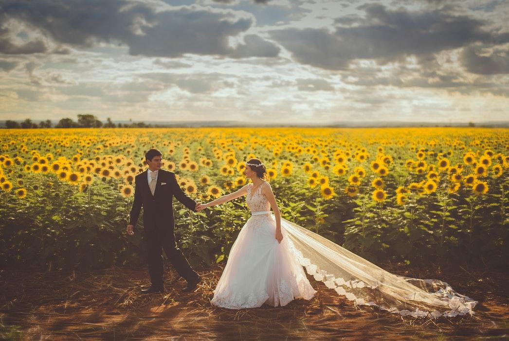 Hochzeitsfotos und Brautpaarshooting