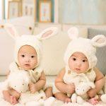Geburtskarten für Zwillinge