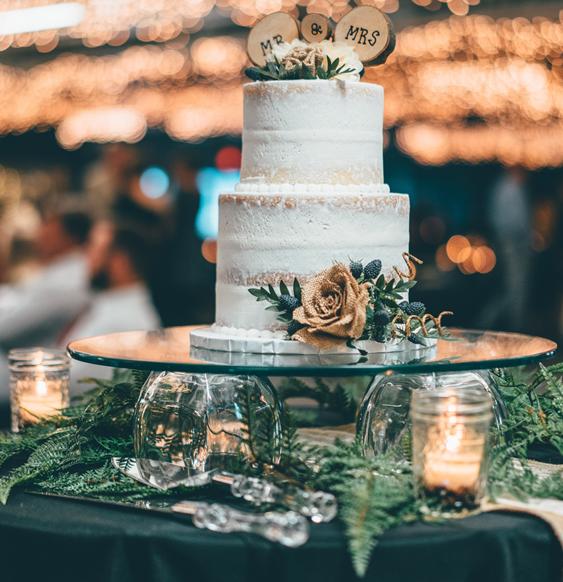 Hochzeitsdeko Winterhochzeit