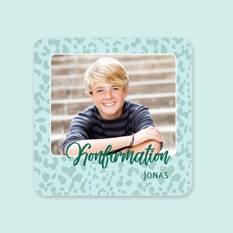 Einladungskarte Konfirmation Junge
