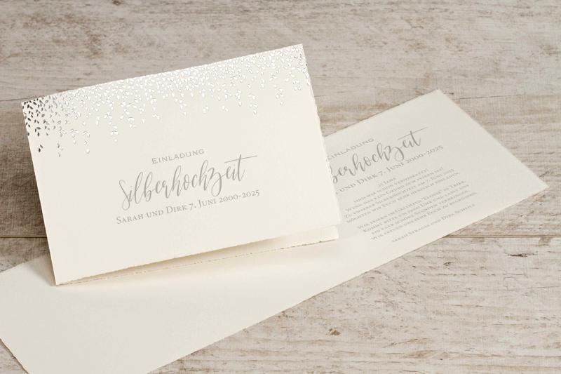 Silberhochzeit Einladung